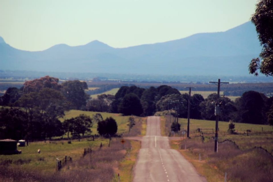 Road to The Grampians, Australia