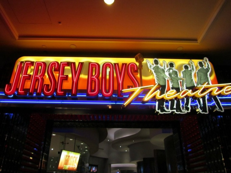 Jersey Boys play in Las Vegas
