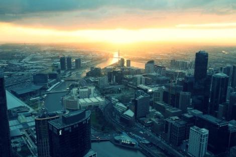 View over Melbourne, Australia