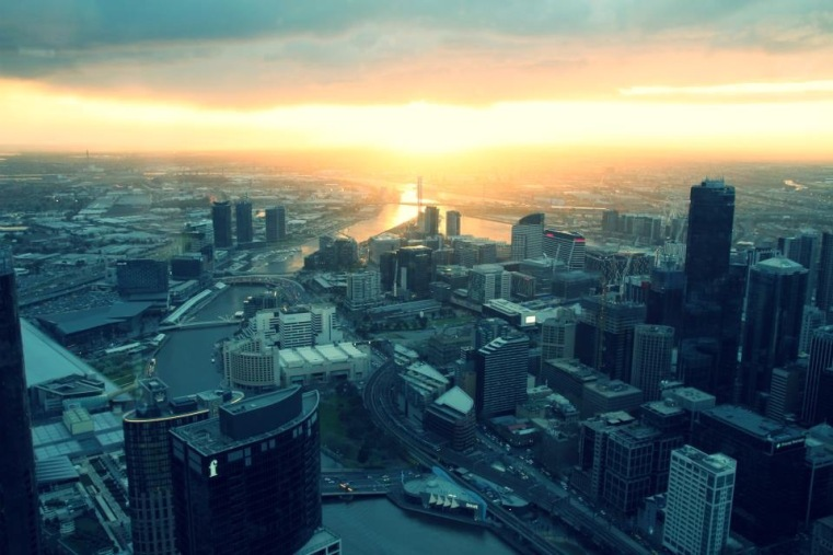 View over Melbourne, Australia