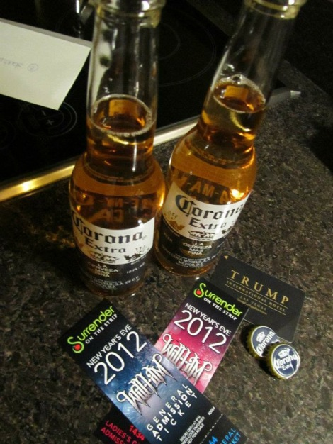 New Years Eve in Las Vegas 2012