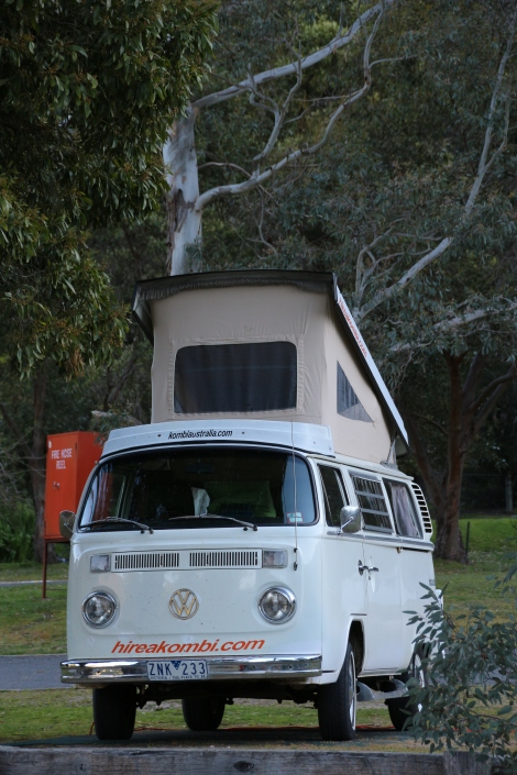 Our Kombi in Halls Gap, The Grampians, Australia