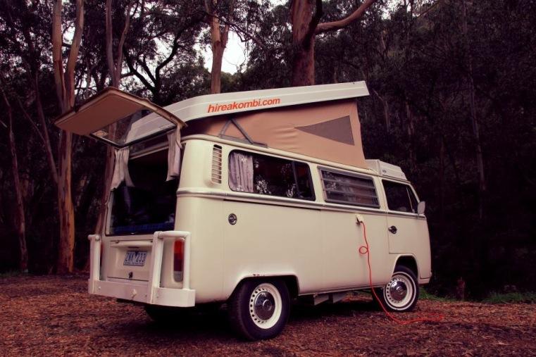 Kombi in Lorne, Australia
