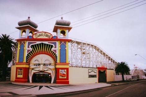 Luna Park, St Kilda, Australia