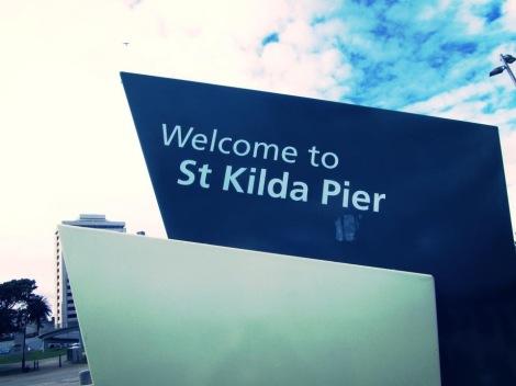 Welcome to St Kilda Pier, Australia