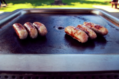 Snags on the barby, Australia
