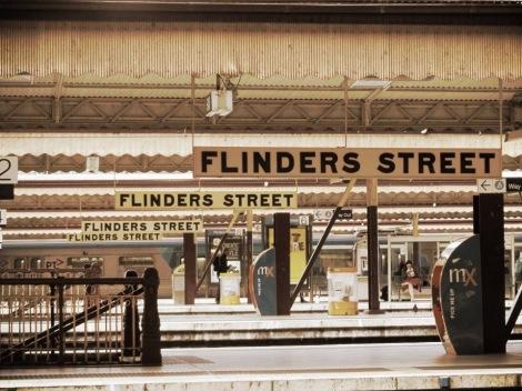 Flinders Street Train Station, Melbourne