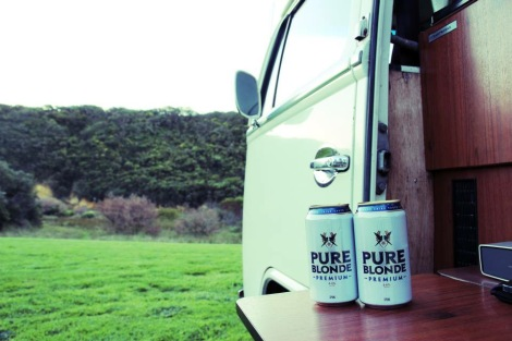 Drinks in the Kombi, Post Campbell, Australia