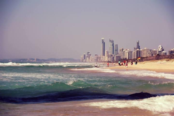 Australia: The Southport Spit, GoldCoast