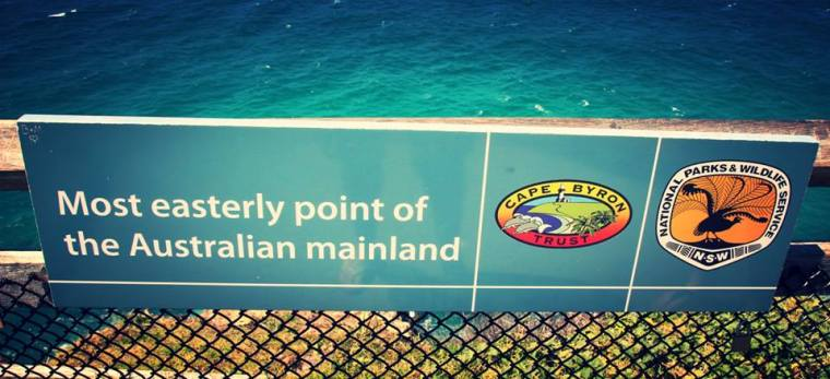 Most Easterly point of the Australia mainland, Byron Bay