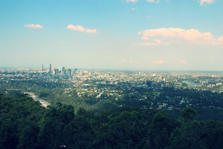 View of Brisbane, Australia