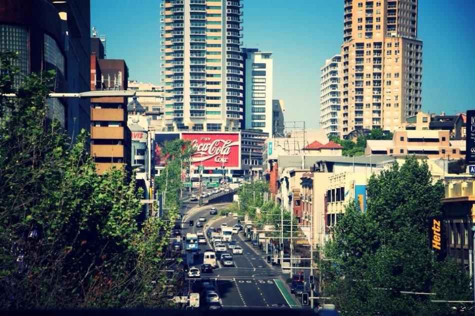 Street in Sydney, Australia