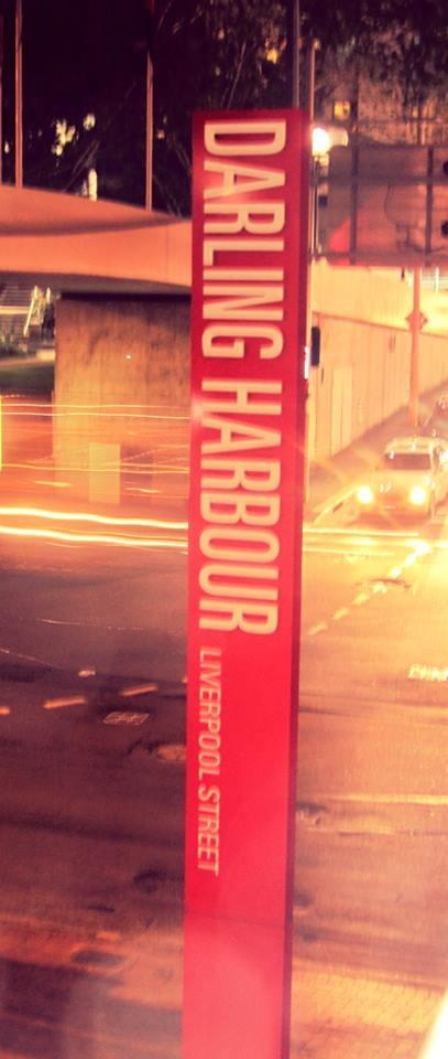 Darling Harbour sign, Australia