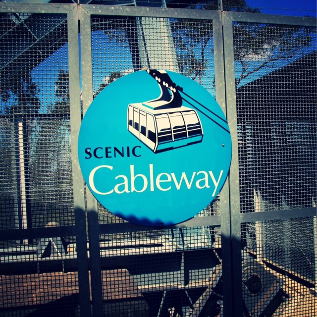 Cableway at the Blue Mountains, Australia