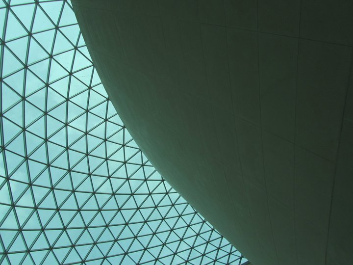 Ceiling at the British Museum, London