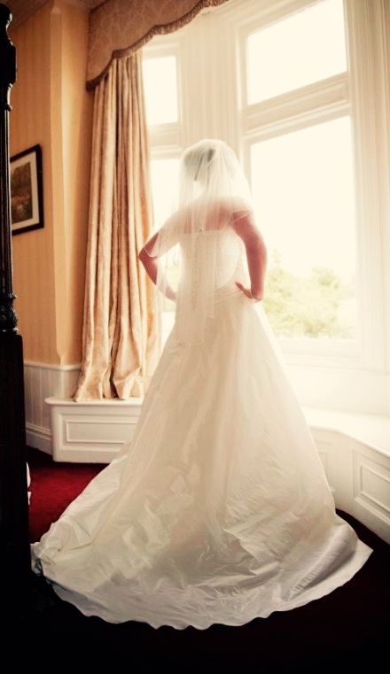 Me in my wedding dress :)