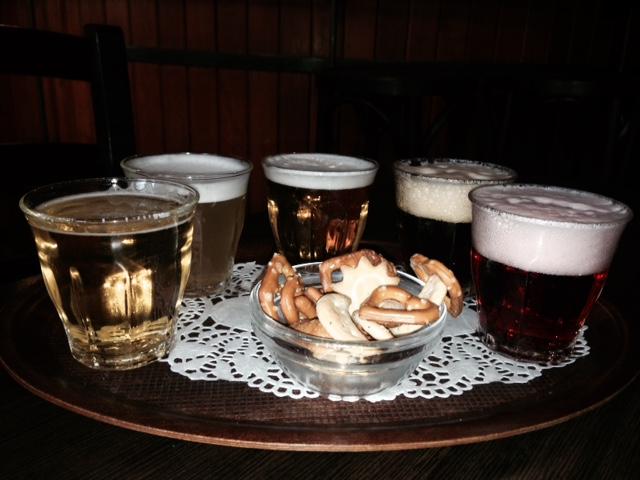 Beer tasting in Brussels, Belgium
