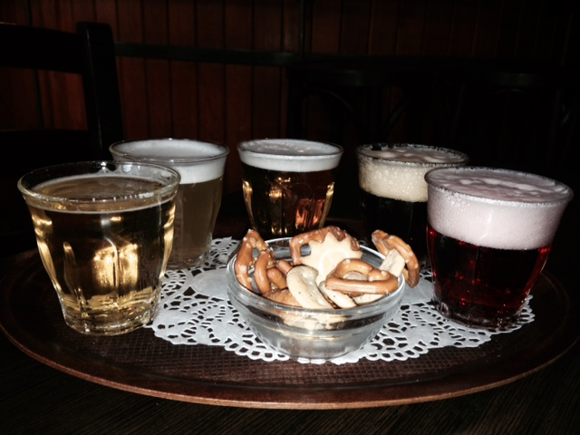 Beer tasting in Brussels, Belgium