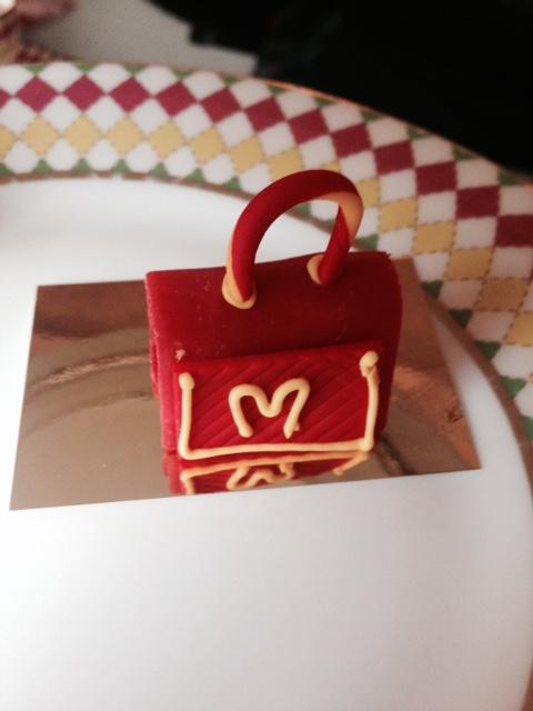 Mini cakes at The Berkeley, London