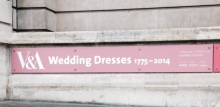 Wedding Dress Exhibition at the V&A. London