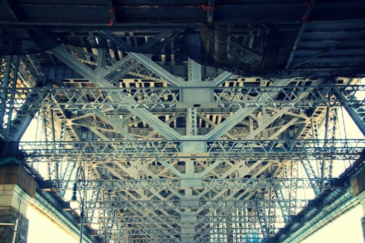 Under the Sydney Harbour Bridge, Australia