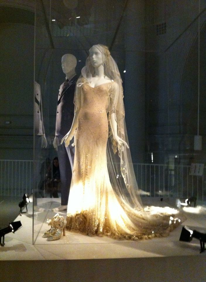 Kate Moss' Wedding Dress at The V&A