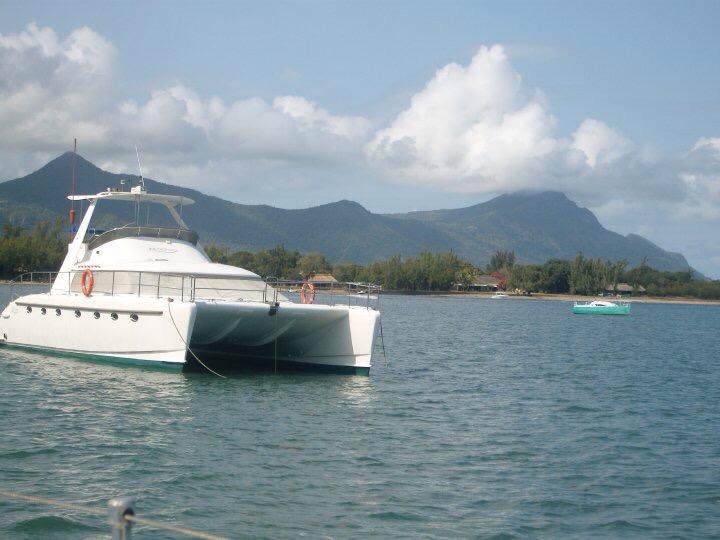 Catamaran in Mauritius