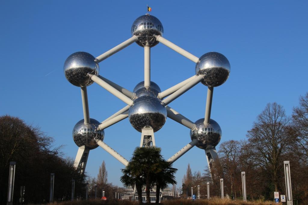 Atominum in Brussels, Belgium