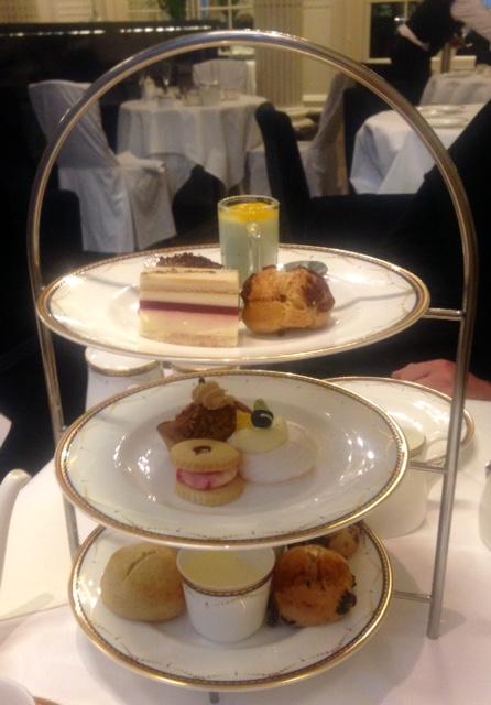 Afternoon Tea at Waldorf Hilton, London