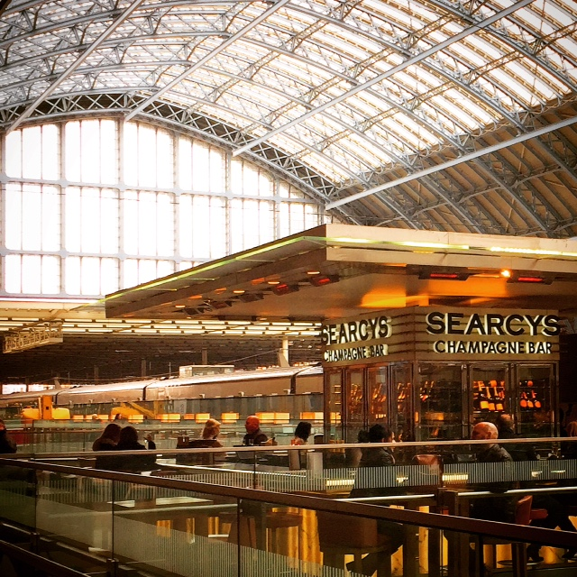Searcys Champagne Bar, St Pancras