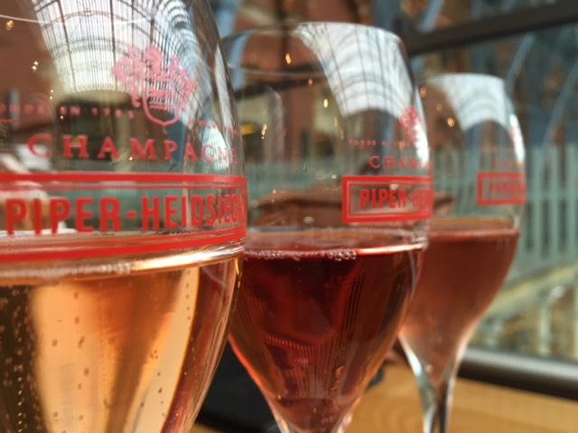 Champagne at Searcys Champagne Bar, St Pancras