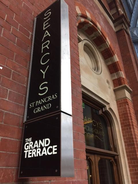 The Grand Terrace Searcys Champagne Bar, St Pancras
