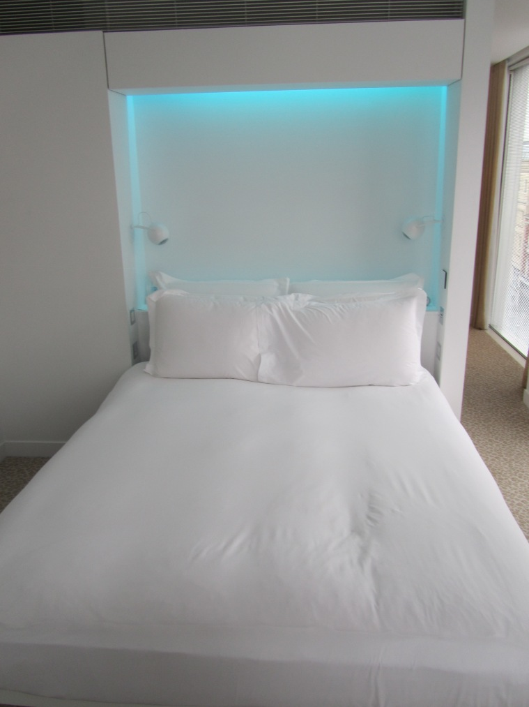 Bed at St Martins Lane Hotel, London