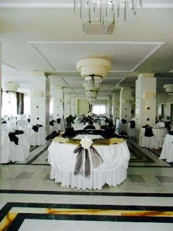 Dining room at Grand Hotel Nastro Azzurro, Sorrento, Italy