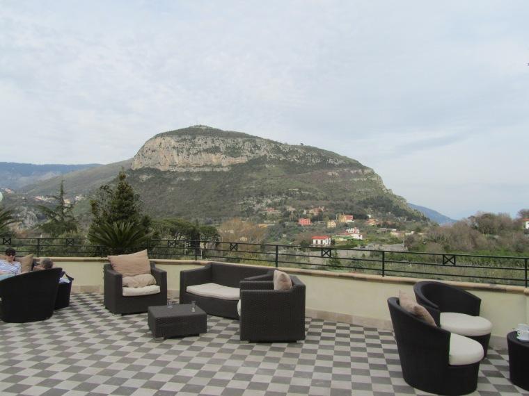 View from Grand Hotel Nastro Azzurro, Sorrento, Italy