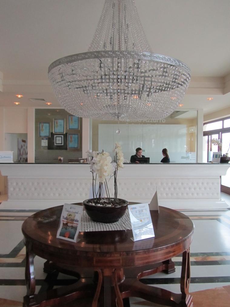 Reception at Grand Hotel Nastro Azzurro, Sorrento, Italy