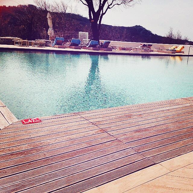 Pool at Grand Hotel Nastro Azzurro, Sorrento, Italy