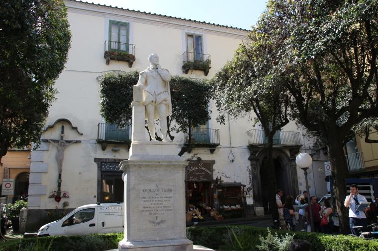 Statue in Sorrento, Italy