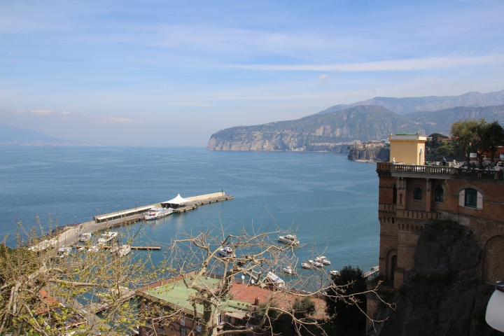 View from Sorrento, Italy