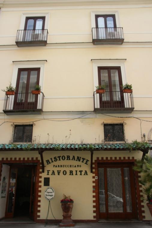 Favorita Ristorante, Sorrento, Italy