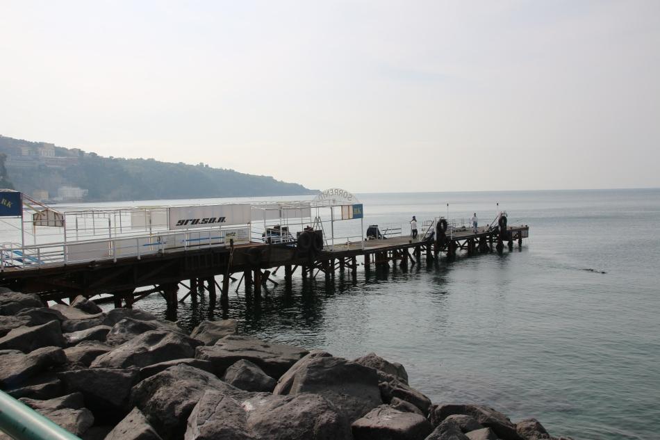 Sorrento Pier, Italy