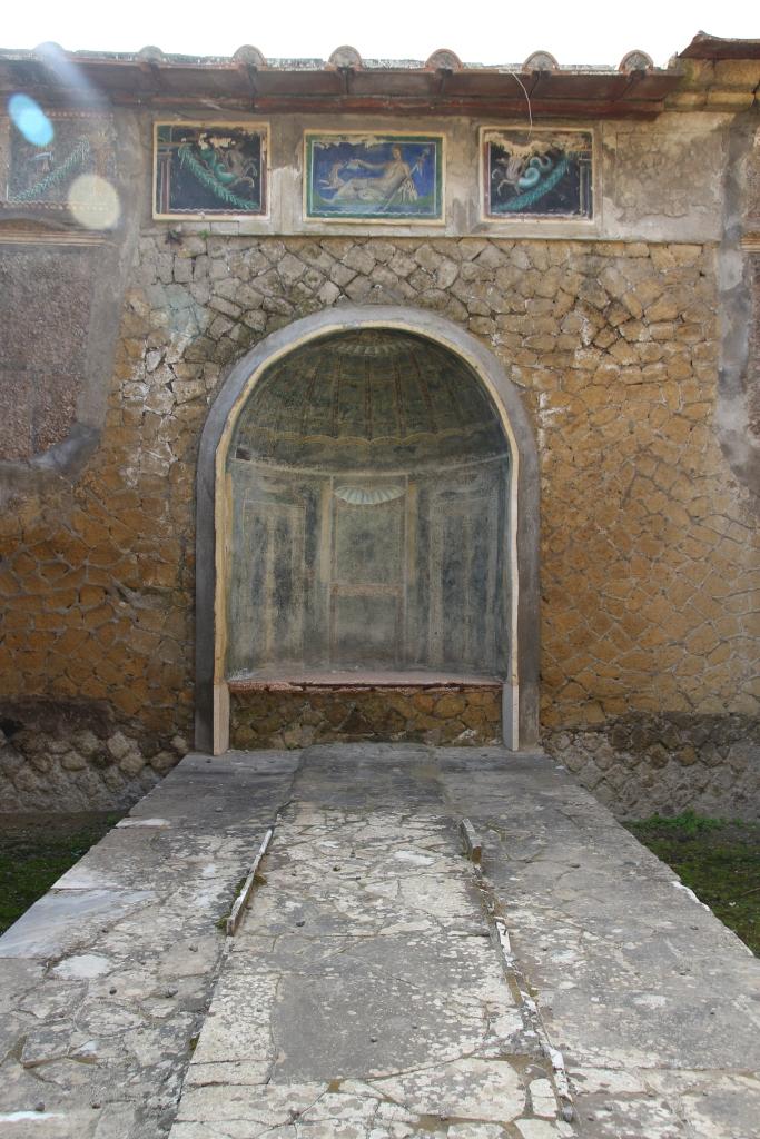 The ruins of Herculaneum, Italy