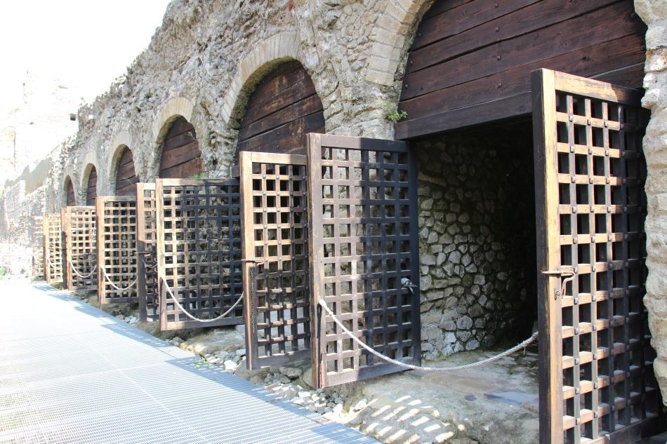 Herculaneum city gates, Italy