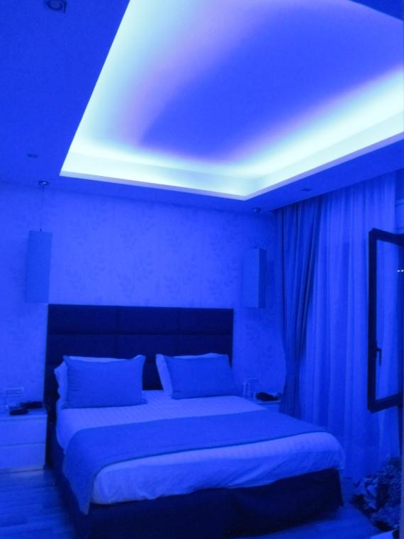 Bedroom at Grand Hotel Nastro Azzurro, Sorrento, Italy