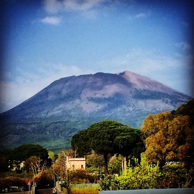 Italy: Conquering MtVesuvius