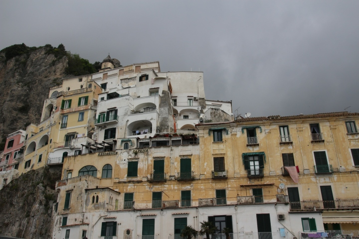 Architecture on the Amalfi Coast, Italy