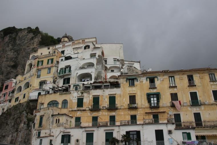 Architecture on the Amalfi Coast, Italy