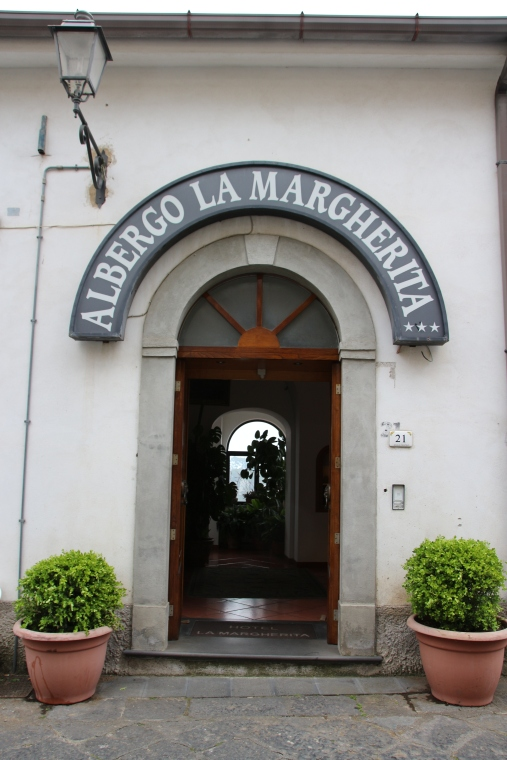 Restaurant in La Scala, Italy