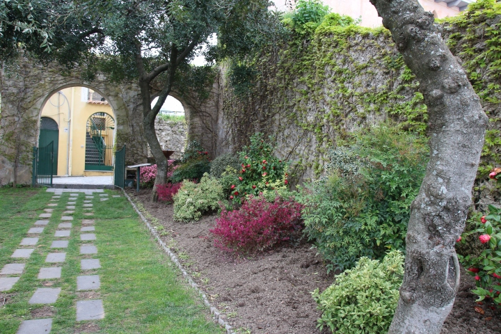 Beautiful garden In Ravello, Italy