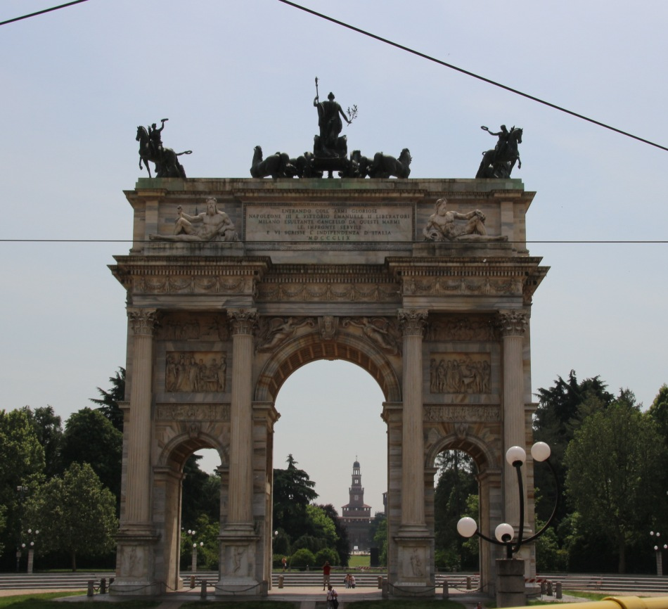 Arco della Pace - Arch of Peace, Milan